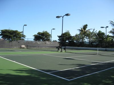Tennis at your door step - Two Courts