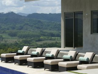 Nicoya house photo - Lounge Chairs poolside for relaxation