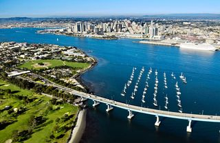 Coronado condo photo - Aerial View of Coronado Bay Bridge in Coronado Califonia