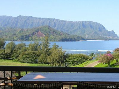 Lanai and View - Condo 4323, Hanalei Bay Resort