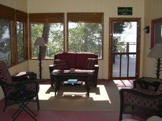 Screened-in porch; additional living area