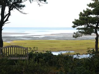 Wellfleet house photo - Bay view and sunsets over the ever changing tidal flats.