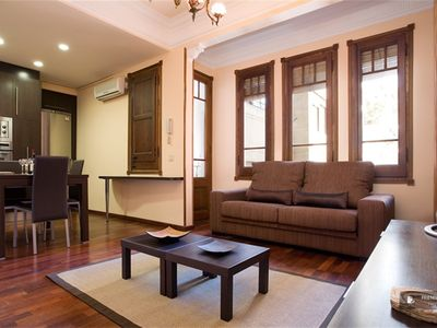 "Friendly Rentals The Haydn I Apartment in Barcelona - Click on the ""Book Now"" button to calculate the exact price."