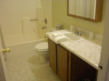 Bathroom - Tub and Shower Combo