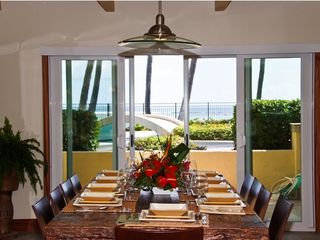Kahala estate photo - Ocean View dining
