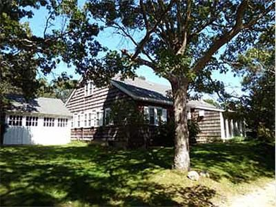 Oak Bluffs house rental - Approach to House