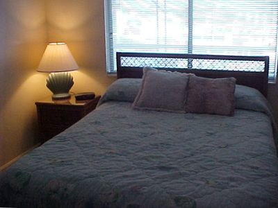 3rd Bedroom with Queen Size Bed/Cable TV & Half Bath..........
