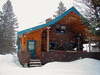Eden property rental photo - A Snowy Hideaway