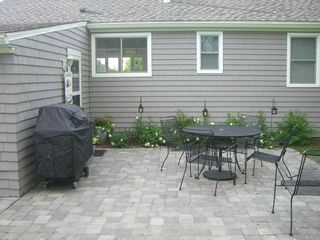 Clinton house photo - Private patio with Gas grill