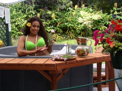 Kipa mai - Come visit - the Hapu'u Fern Cottage