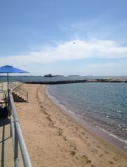 Branford house photo - Private Beach access included with vacation rental at Owenego Beach Club.