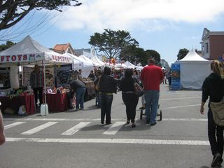 Pacific Grove cottage photo - Good Old Days celebration in mid April - crafts, live music, great food!