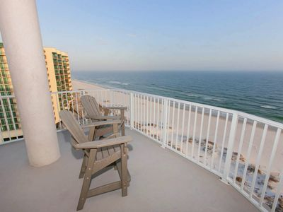Large gulf front deck
