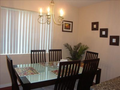 Bright and Specious dinning area