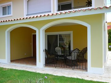 Punta Cana condo rental - Patio