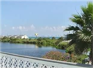 View of Gulf and Lake Frontage from Deck