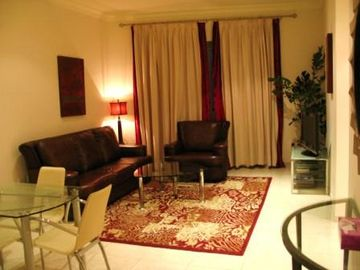 Dubai Marina & Al Sufouh apartment rental - Living Room