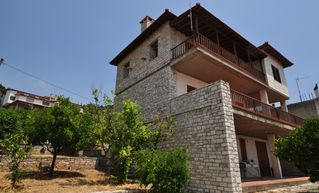 Fokis villa photo - View of whole house and apartment below it