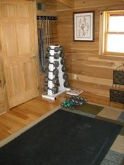 Nancy cabin photo - Weights in the Loft