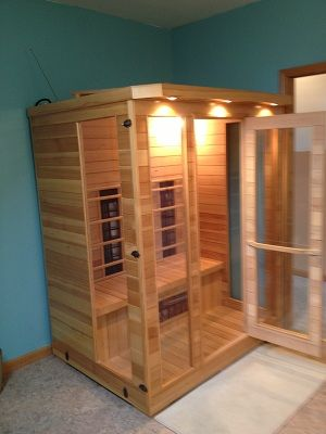 Awsome Dry Sauna for two with radio & reading Lights
