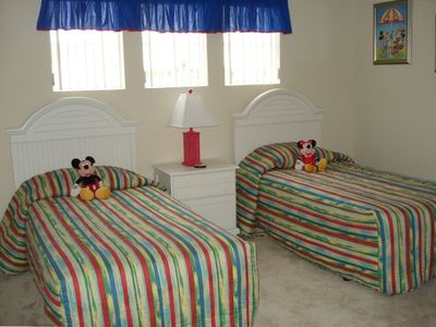 Mickey and Minnie await their guests!