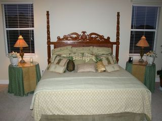 Estero house photo - Spacious master with king bed TV