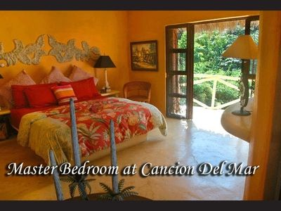 Master Bedroom at Cancion del Mar