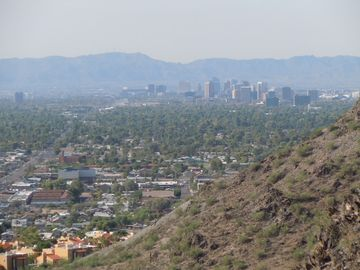 N Mountain Downtown Phoenix Skyline