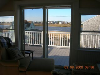 Plum Island condo photo - Views from open living area and kitchen