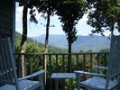 View from deck - Black Mountain chalet vacation rental photo