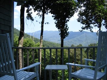 Black Mountain chalet rental - View from deck