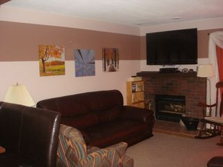 Killington condo photo - Relax and Enjoy the cozy fire on a cold winter night.
