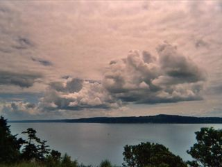 Camano Island house photo - Some of our majestic cloud formations
