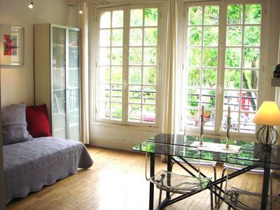 18th Arrondissement Montmartre apartment rental - Apartment 'Dreamview Montmartre', 36m2, 1-4 Pers