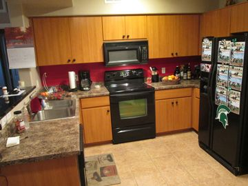 Litchfield Park condo rental - Kitchen comes completely furnished.