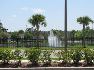 Lake Buena Vista condo photo - Water fountain at the front entrance.