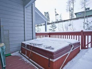 Silverthorne townhome photo - Private Hot Tub