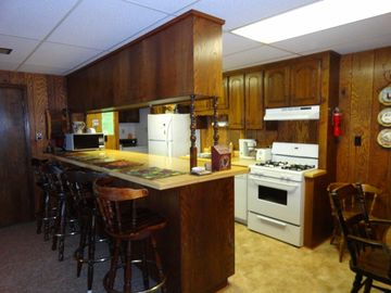 Fully Equipped Kitchen on both levels