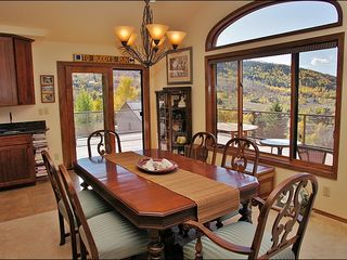 Steamboat Springs house photo - Formal Dining for 6 plus bar seating for 2