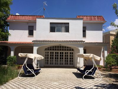 Apartments in Villa 50 meters from the sea in Baia Verde Gallipoli