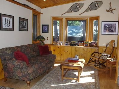 Agate Bay house rental - Sunny Reading Nook that is off of the Great Room