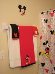 Emerald Island townhome photo - Main Mickey & Minnie mouse upstair bathroom