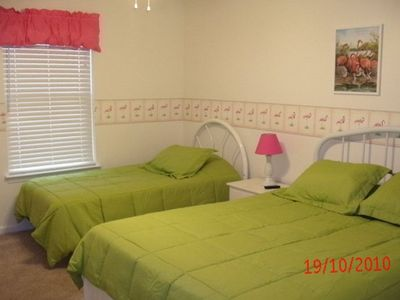 Bedroom 3 - Queen Bed and Twin bed