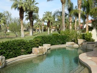 La Quinta house photo - Take a dip in the saline pool. Enjoy the misters! They keep you cool.
