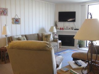 Oceanside condo photo - Another View of the Living Room and 40' SmartTV