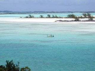 Great Exuma cottage photo - Bonefishing flats adjacent to your cottage