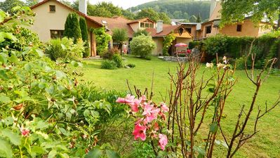 image for Holiday Villa 1 is a  tastefully restored  villa in a famous  spa town.