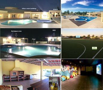 Best villa in Portugal with 2 Pools, Football pitch, Tennis, Cinema, Disco, Bar!