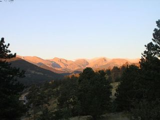 Estes Park house photo - View at Night