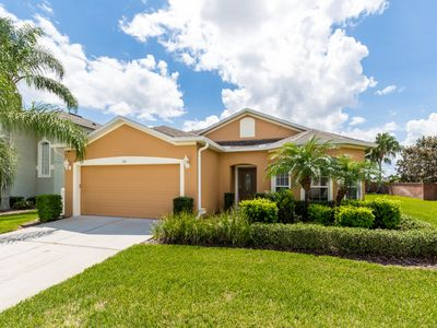 Executive 4 bed, south facing private pool/Spa - 10 Min from Disney World/Golf